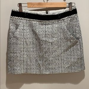 Black & white skirt from The Limited